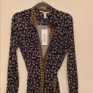NWT Diane Von Furstenburg Calzare dress